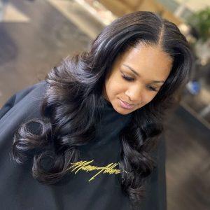 Mane Allure Salon - Hair salon in Mississauga - weave - extensions - silk press - 8